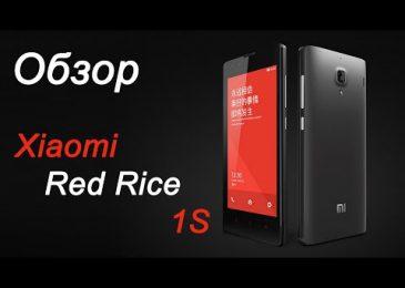 Обзор смартфона Xiaomi Red Rice 1S