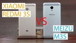 Лучший китайский смартфон до 130$. Сравнение Xiaomi Redmi 3S и Meizu M3S | отзывы