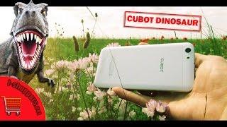 CUBOT DINOSAUR — обзор смартфона: динозавр с большим сердцем