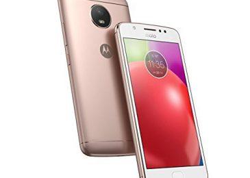 Обзор смартфона Motorola Moto E4