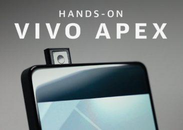 Обзор смартфона Vivo Apex